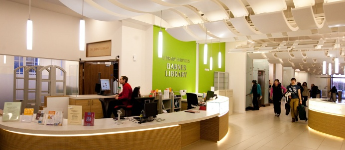 Medical School Foyer & Barnes Library - Electrical Project 4
